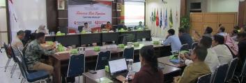 Tim Periset INSTITUT DAYAKOLOGI Lakukan Diseminasi Hasil Riset Kepemiluan di KPU Provinsi Kalimantan